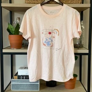 J. Crew Old Fashioned Tee